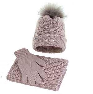 czapka-zimowa-w-komplecie-rozowa