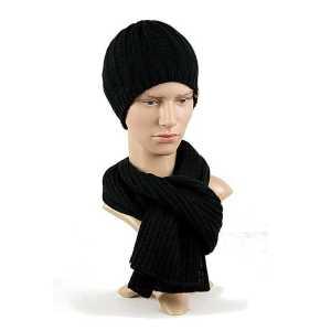 czapka-meska-czarna-podszewka-manekin