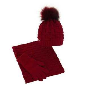 czapka-komin-rekawiczki-czerwony