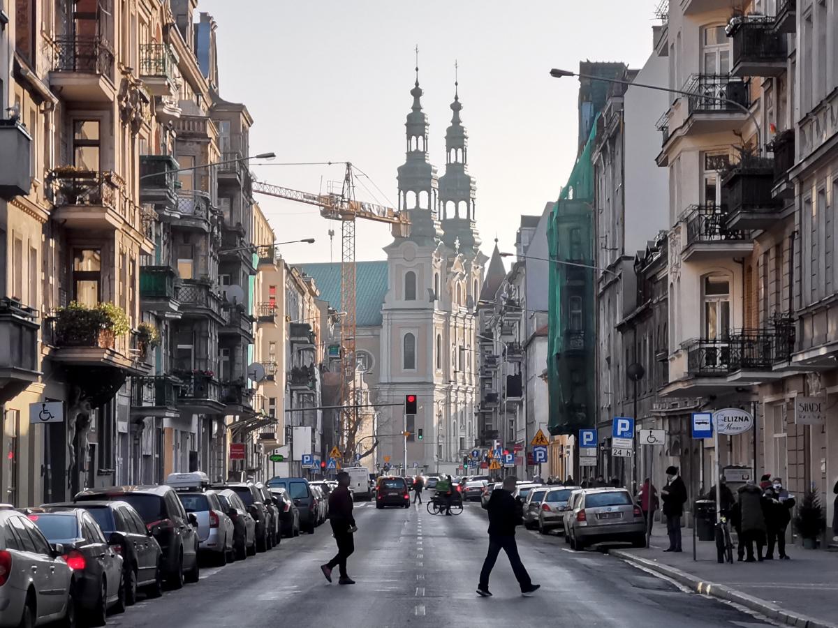 Oś widokowa ulicy Garbary robi ogromne wrażenie