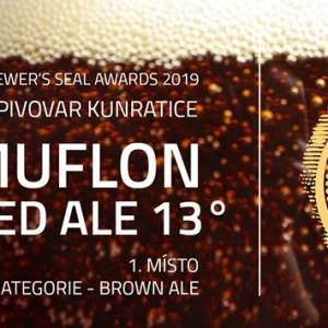 Czech Golden Seal_1 st place for RED ALE 2019