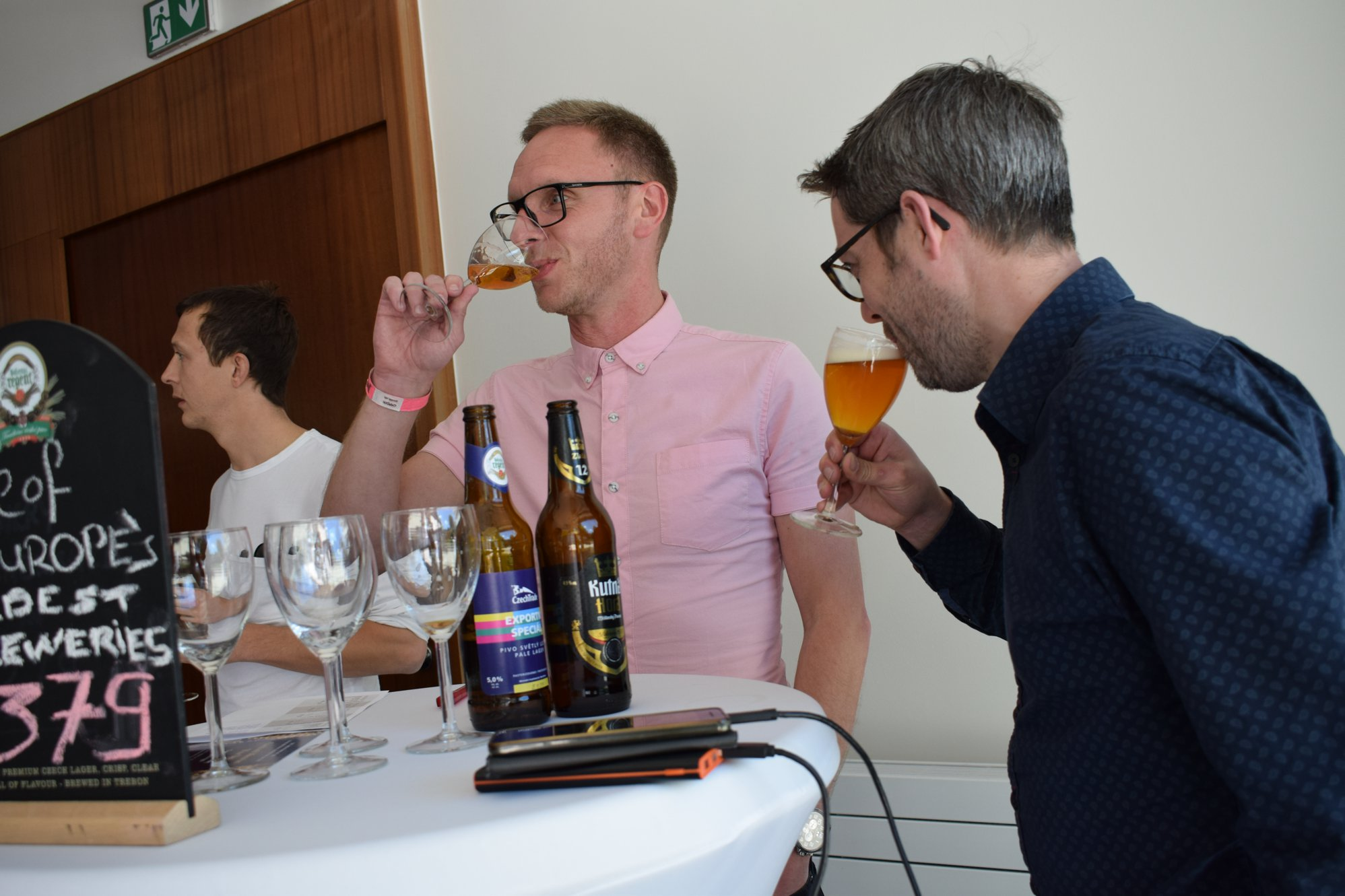 czech beer workshop at the czech embassy