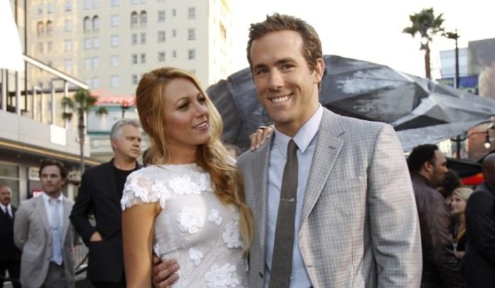 Blake Lively s manželem Ryanem Reynoldsem (thebrostreet.com)