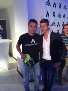 Reportér CZECHMAGu na fotce s Davidem Lafatou