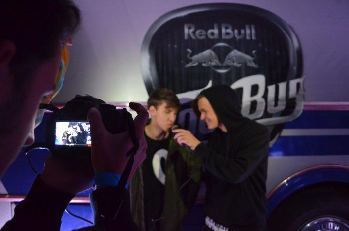 NobodyListen před Red Bull Tour Busem a jeho páteční show.