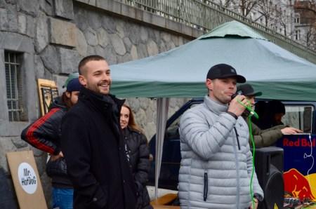 Dereck Hard (vlevo) a Jay Diesel (vpravo)