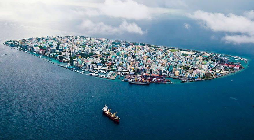 Male, Maledivy