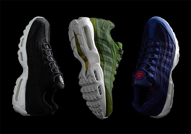 Nike x Stussy Airmax 95 sneakers