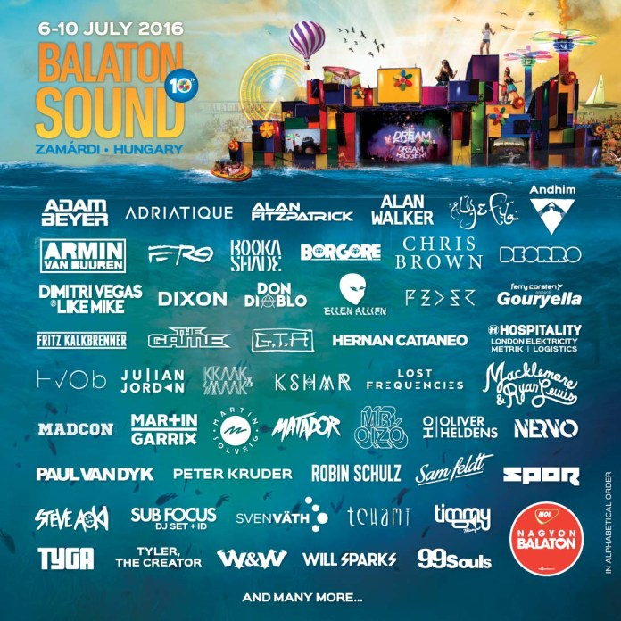 balaton sound 2016 flyer