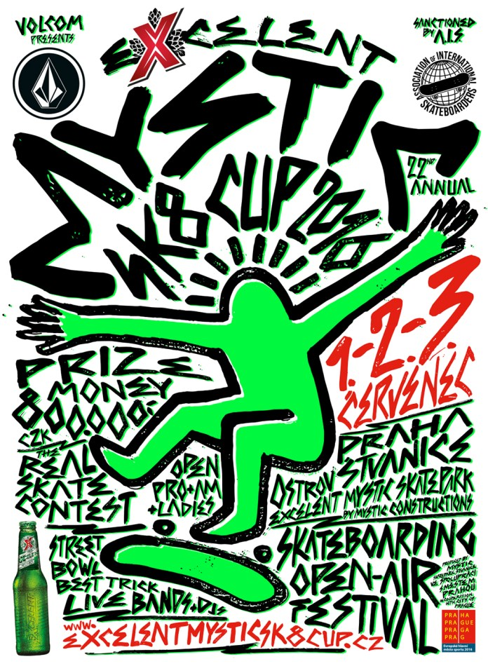 excelent mystic sk8 cup 2016 poster