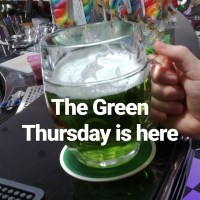 Why is a green beer being served in the Czech Republic today?