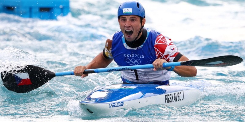 Kayaker Jiri Prskave brings home gold for the Czech Republic - Czech Points