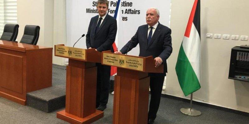 Palestinian foreign minister meets Minister Petříček in Prague - Czech Points