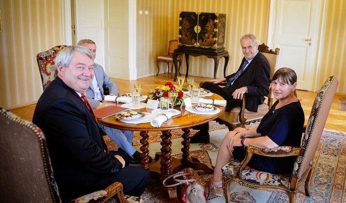 Zeman celebrates anniversary of Soviet invasion with communists - Czech Points