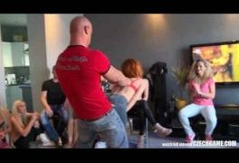 Horny Group Of Friends Play Naughty Games – Czech Game