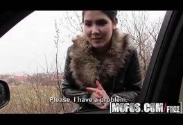Mofos – Stranded Teens – Czech Honeys Roadside Sex Tape starring  Lady D