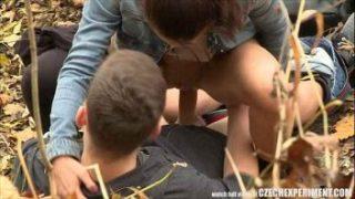 Slutty Teen Chick Fucks Stranger on The Street – Czech Experiment