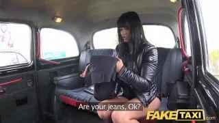 Kinky Brunette Tera Joy Fucked in Back Seat – Fake Taxi