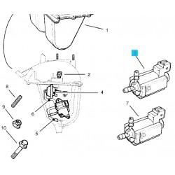 Zawór powietrza kolektora ssącego GM 90541456 (Opel Astra