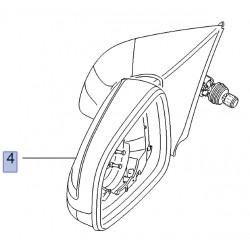 Lusterko zewnętrzne drzwi lewych 13253341 (Astra H