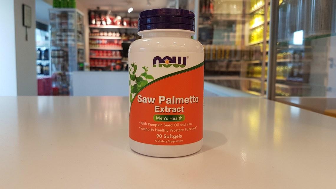 Saw Palmetto Extract - Now Muscle Power Częstochowa - sklep z suplementami i zdrową żywnością