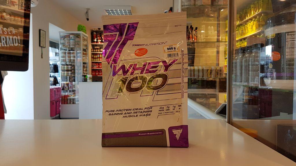 Whey 100 - Trec Muscle Power Częstochowa - sklep z suplementami i zdrową żywnością