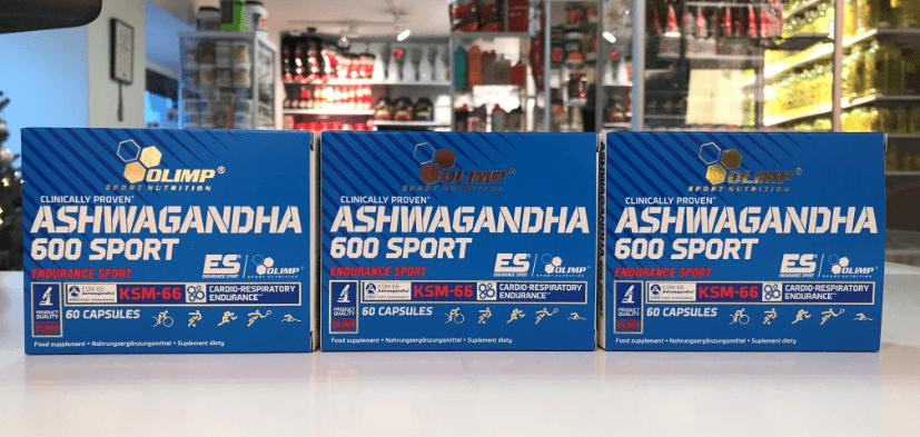 Ashwagandha 600 sport- Olimp Muscle Power Częstochowa
