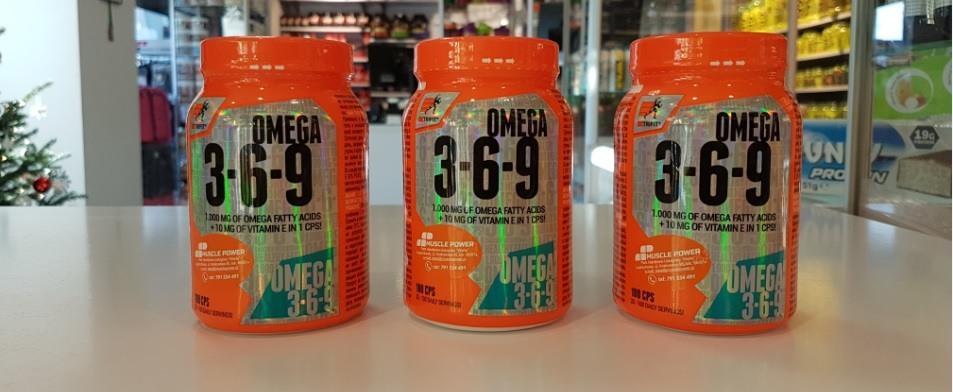Nowość marki Extrifit- Omega 3-6-9 .Częstochowa Muscle Power. sklep z suplementami i zdrową żywnością