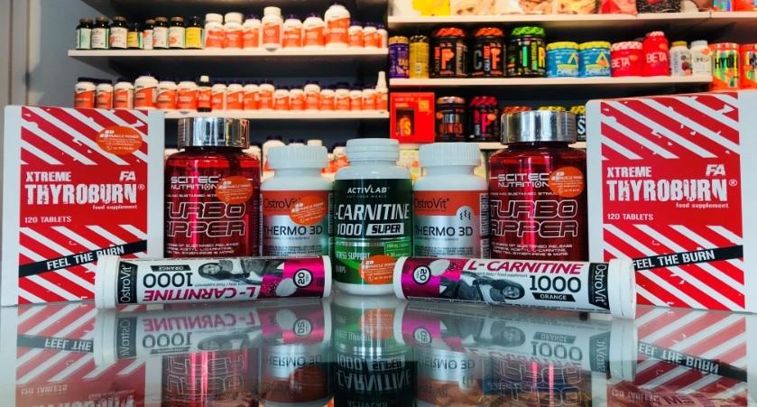 Spalacze tłuszczu w gratisie do Twoich zakupów w Muscle Power !