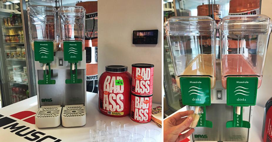 Degustacja białka marki BAD ASS Muscle Power Częstochowa - sklep z suplementami i zdrową żwynością