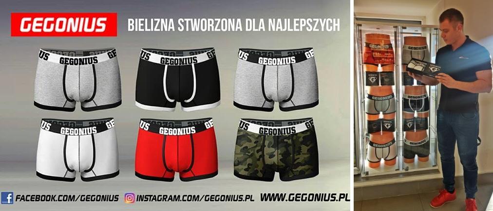 Bielizna marki Gegonius już w sklepie stacjonarnym Muscle Power !