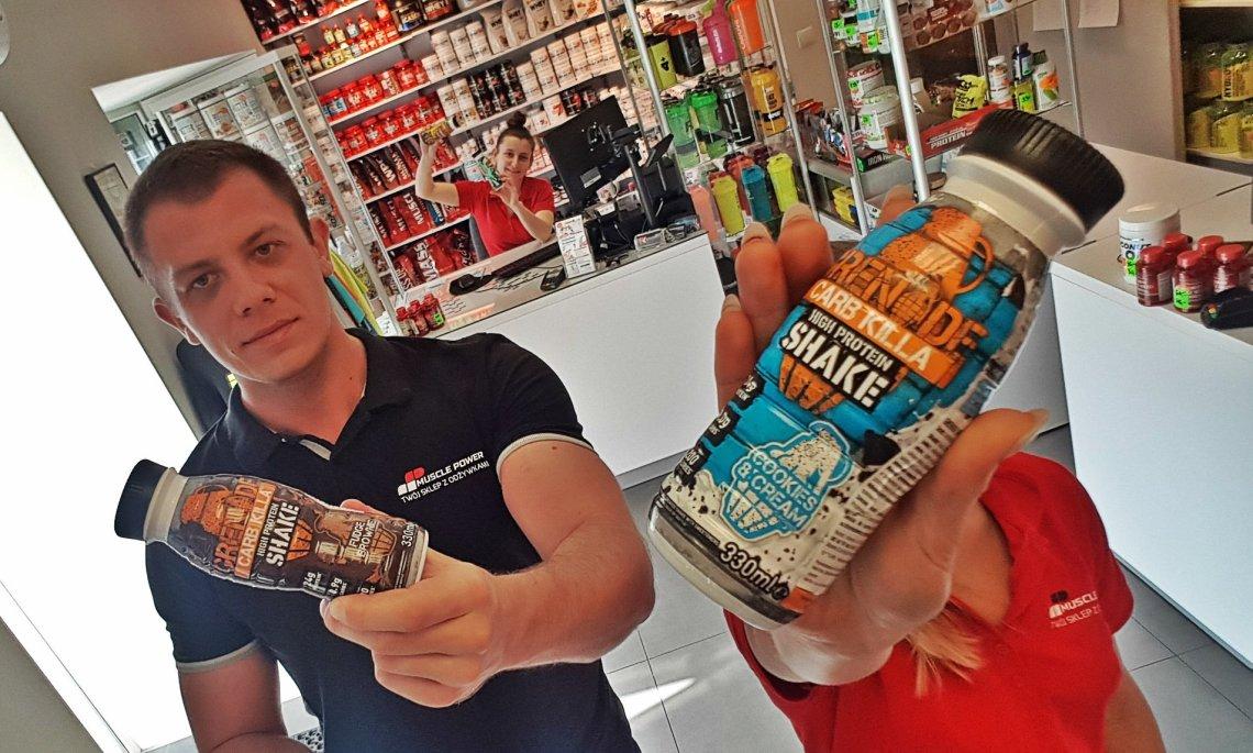 Wysokobiałkowe shake za 5PLN! Muscle Power Częstochowa - sklep z suplementami i zdrową żywnością
