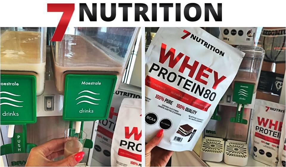 Degustacja pysznych białek od 7 Nutrition!
