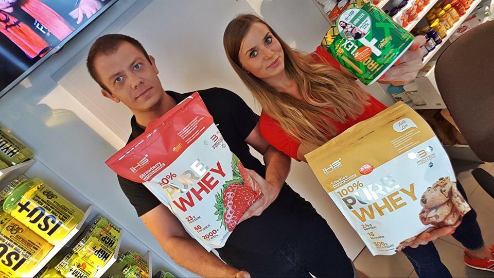 Odżywka białkowa marki Iron Horse Series w opłacalnym paku !