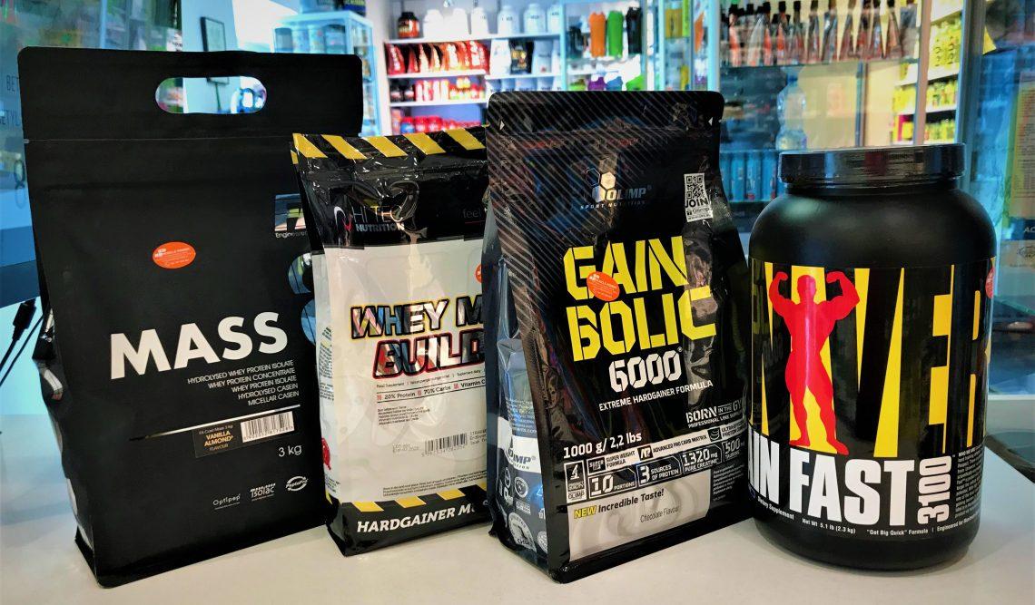 Odżywki białkowo- węglowodanowe w Muscle Power- Iron Horse Series, Fitness Authority, Hi Tec, Universal