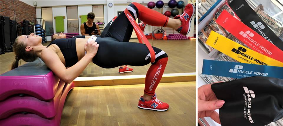 Nowość- gumy mini band Muscle Power idealne do Twojego treningu!