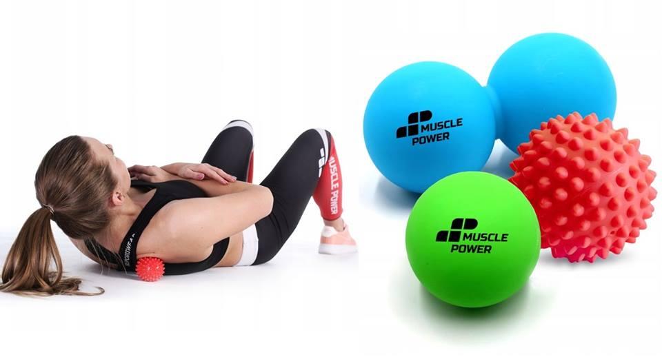 Kolejne akcesoria dostępne w Muscle Power- piłki do masażu!