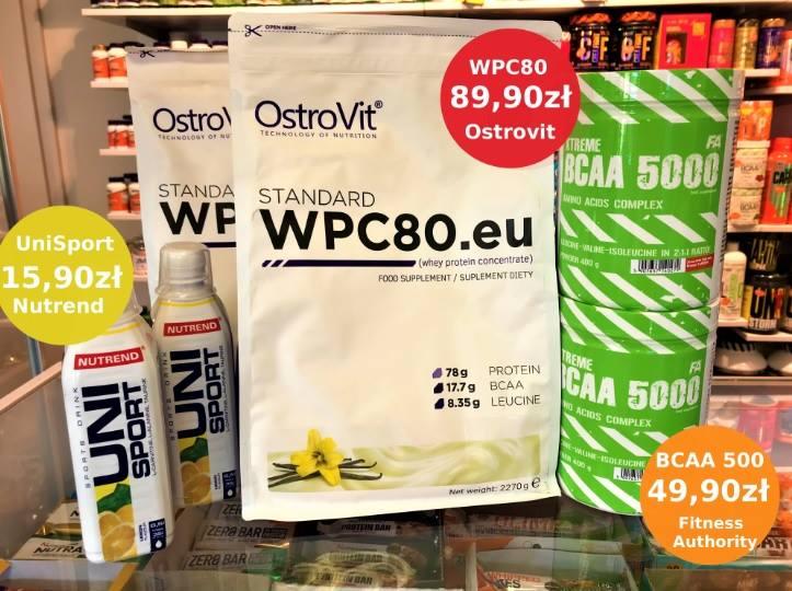 WPC 30, UniSport i BCAA 5000 w lepszej cenie !
