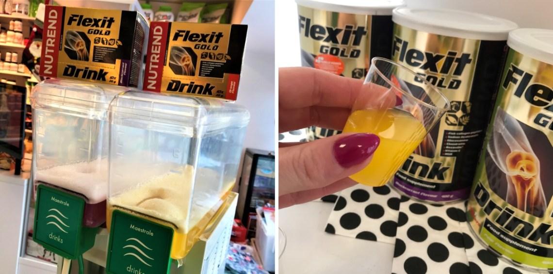Degustacja Flexit Gold od Nutrend w Muscle Power
