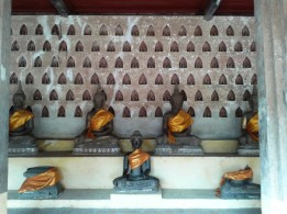 The only dry Buddhas in Laos.
