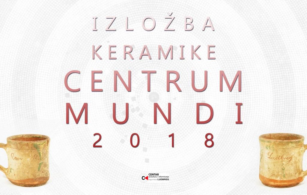 [Natječaj] Izložba keramike Centrum mundi 2018