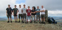 2016.01 Wilno - Oboz Wedrowny group photo Helvellyn