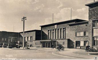 Dworzec w Glogau