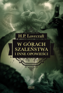 Okładka książki w górach szaleństwa. W opowiadaniach Lovecrafta często pojawiają się motywy marynistyczne.