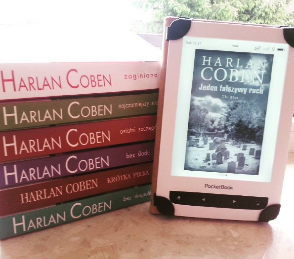książki Harlana Cobena - książki drukowane oraz na czytniku pocketbook