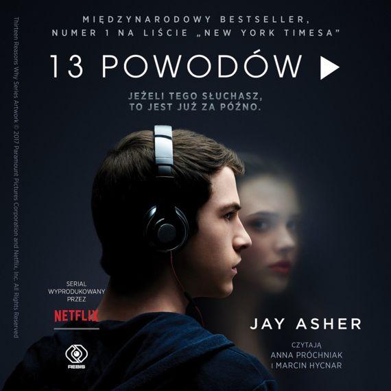 okładka audiobooka 13 powodów - jay asher