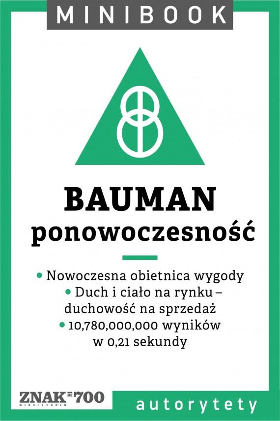 Bauman [ponowoczesność] w minibooku