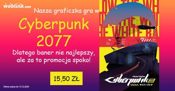 promocja cyberpunk woblink