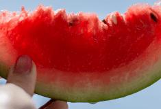 przekąski z arbuzem