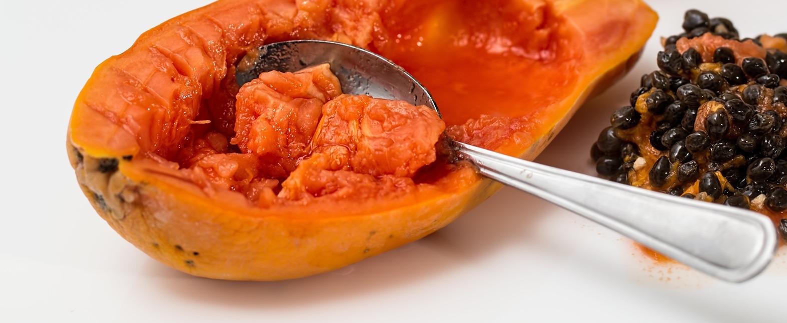 papaja to zdrowy egzotyczny owoc